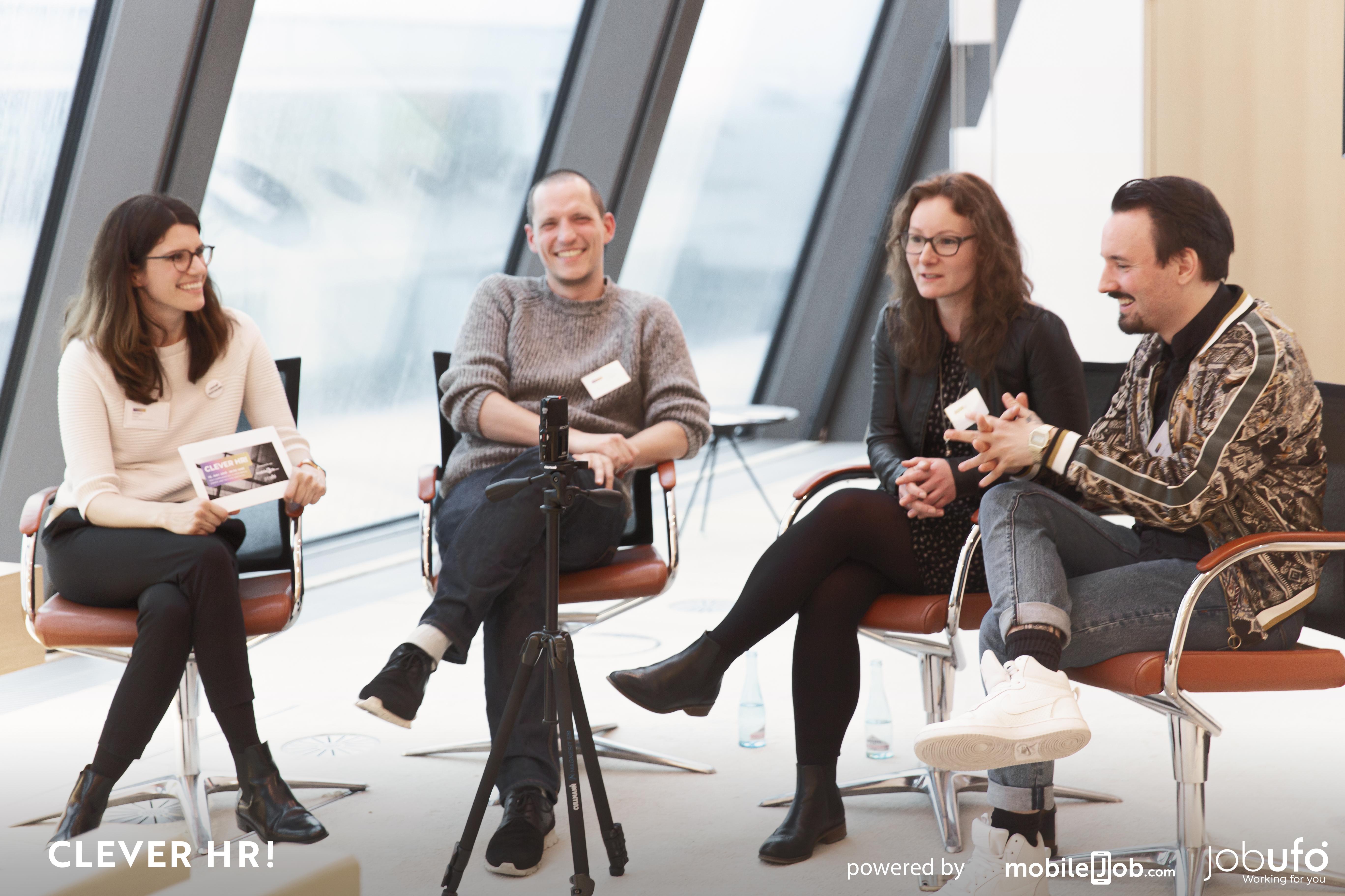 Panel-Diskussionsrunde